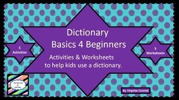 Dictionary---Basics for Beginners