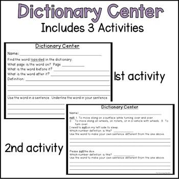 Dictionary Center