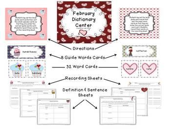 Dictionary Center~February