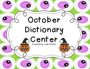 Dictionary Center~October
