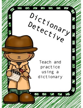 Dictionary Detective