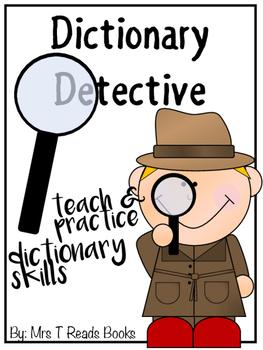 Dictionary Detective Dictionary Skills