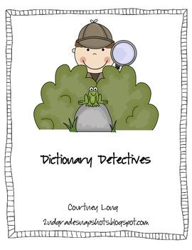 Dictionary Detectives Unit
