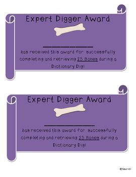 Dictionary Dig: Choice Menu Tasks to Practice Dictionary Skills & ELA Concepts