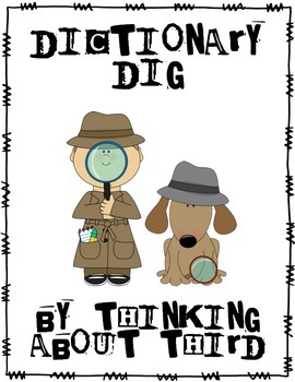 Dictionary Dig Scavenger Hunt