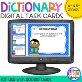 Dictionary Skills Digital Task Cards for Google Slides (Set B)