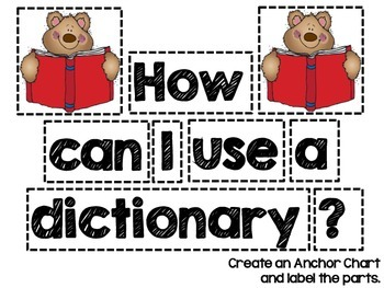 Dictionary Freebie