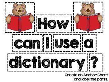 Dictionary Freebie