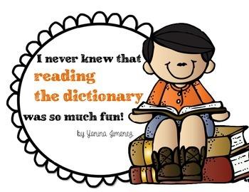 Dictionary Fun - Vocabulary Game