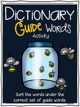 #summer2017 Dictionary Guide Words