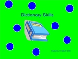 Dictionary Guide Words Smartboard Practice