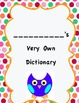 Dictionary: My Personal Dictionary