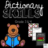 Dictionary Skills Worksheets and Center Activities