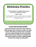 Dictionary Practice and ABC Order