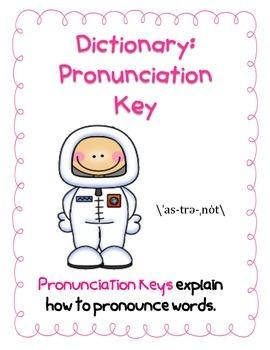 Dictionary:  Pronunciation Key