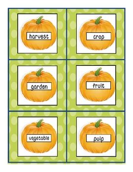 Dictionary Pumpkins Literacy Center