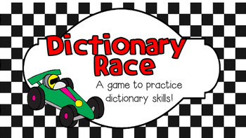 Dictionary Race Game