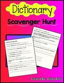 Dictionary Scavenger Hunt