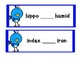 Dictionary Skill - Guide Words - Bird