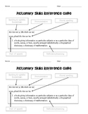 Dictionary Skills Reference Guide