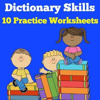 Dictionary Skills Activities