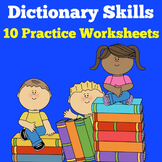 Dictionary Skills Worksheets | Dictionary Skills Activities