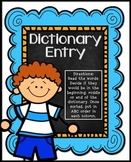 Dictionary Skills Activities | Dictionary Skills Sort