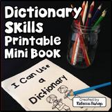 Dictionary Skills Printables Mini Booklet