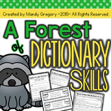 Dictionary Skills Activities with Differentiation