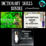 Dictionary Skills PowerPoint Bundle