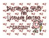 Dictionary Skills Center Activity