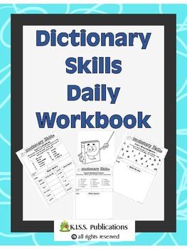 Dictionary Skills Daily Workbook