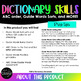 Dictionary Skills: ABC Order, Guide Word Sorts, and MORE!