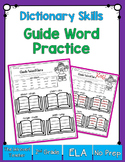 Dictionary Skills: Guide Words Practice