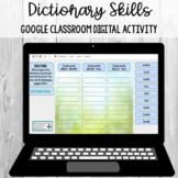Dictionary Skills (Guide Words) Sort: Google Classroom Dig