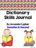 Dictionary Skills Journal