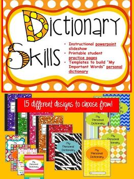 Dictionary Skills  M E G A  BUNDLE - Differentiated Common-Core Product