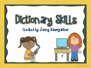 Dictionary Skills Mini Bundle