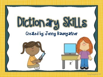 Dictionary Skills Mini Bundle
