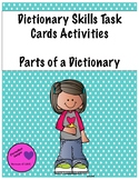 Dictionary Skills-Parts of a Dictionary Task Cards