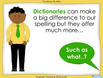 Dictionary Skills - Powerpoint teaching resource