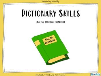 Dictionary Skills - Powerpoint teaching resource