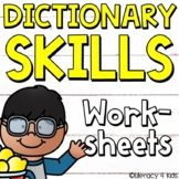 Dictionary Skills No Prep Printables