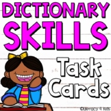 Dictionary Skills Task Cards and PowerPoint
