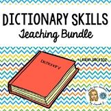 Dictionary Skills Teaching Pack Bundle