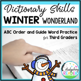 Guide Words   ABC Order   Winter Dictionary Skills