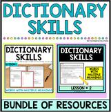 Dictionary Skills and Context Clues, TEK, STAAR