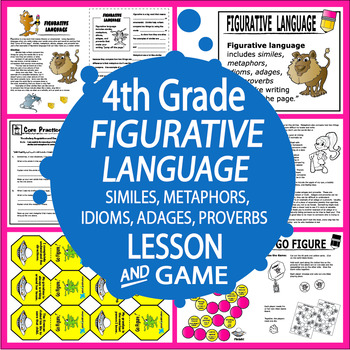 Figurative Language Lesson Activities And Two Figurative Language