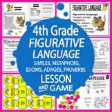 Figurative Language Lesson–Context Clues Activities–Similes, Metaphors, Idioms