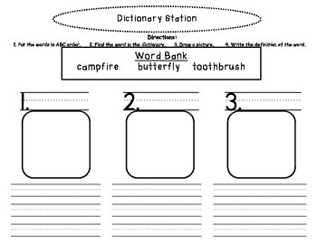 Dictionary Station